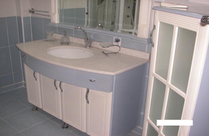 beyaz granit hilton lavabo modeli by mesude. Black Bedroom Furniture Sets. Home Design Ideas