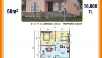 Prefabrik ev modelleri, fiyatları