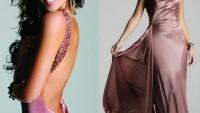 Saten Abiye Modelleri