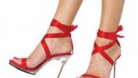 En güzel kırmızı ayakkabı modelleri