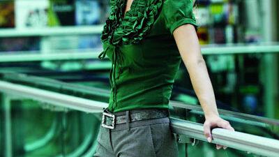 Kadınlar için  kumaş pantolon modeli