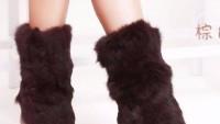 Kürklü çizme modelleri