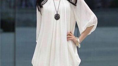 Şifon Elbise Modelleri Modası