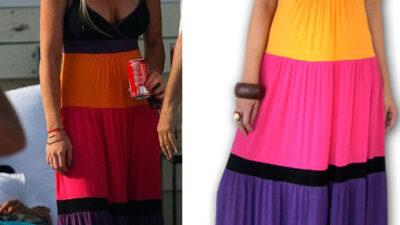 Maksi elbise modası