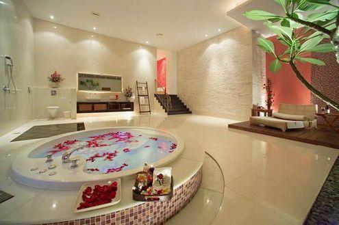 Dekoratif Banyo Modelleri together with Romantic Master Bathroom together with Log Cabin Interior Design additionally 119978777544798656 likewise 1. on luxury romantic interior design
