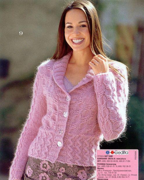 Вязание на спицах Knitting. Жакеты, блузки, блузоны. СТИЛИ. СЕЗОНЫ
