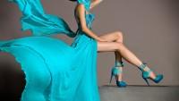 Renkli Şifon Abiye Elbiseler