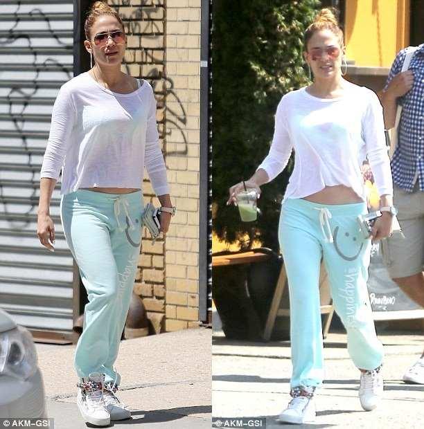 Güzel Şarkıcı Jennifer Lopez' in Mucize İçecek Tarifi