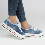 kadın kot spor ayakkabı örnekleri 2016