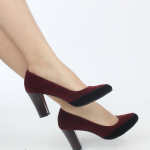 kalın topuklu süet kadın ayakkabı son trend satın al