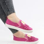 pembe önden püsküllü bayan spor ayakkabı satın al