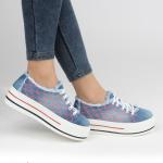 sıra dışı kot bayan spor ayakkabı